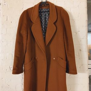 Other - Vintage Brown Coat